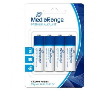 Αλκαλική Μπαταρία MediaRange Premium AA 1.5V (LR6)