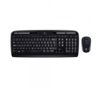 Logitech MK330 Desktop Combo GR (Black, Wireless)