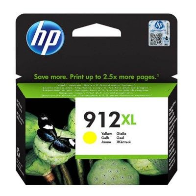 HP Μελάνι Inkjet No.912XL Yellow  825σελ