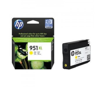 Ink HP No 951XL Large Yellow Ink Crtr